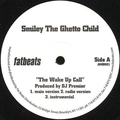 Smiley Da Ghetto WAKE UP Vinyl Record