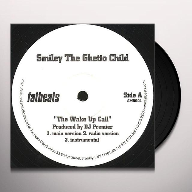 Smiley Da Ghetto WAKE UP Vinyl Record