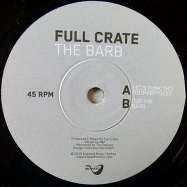 Full Crate BARB Vinyl Record