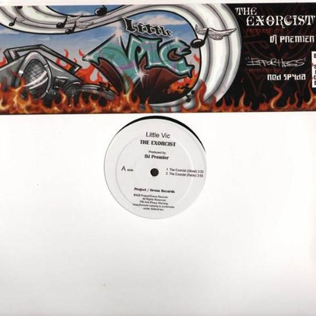 Little Vic EXORCIST Vinyl Record