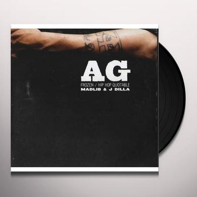 Ag & Madlib FROZEN Vinyl Record