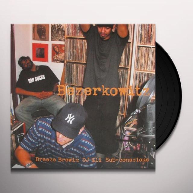 Dj Eli / Subcon / Breeze BERZERK Vinyl Record