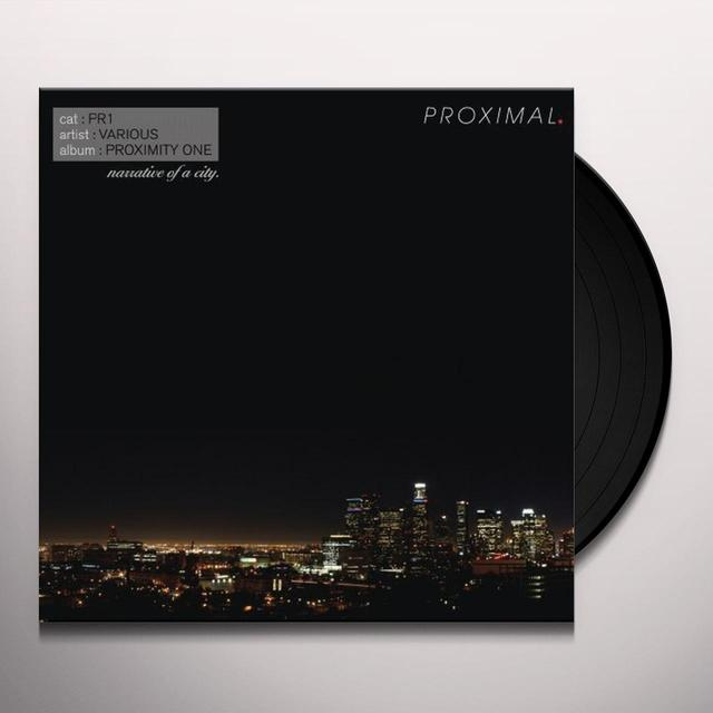 PROXIMITY ONE: NARRATIVE OF A CITY / VARIOUS Vinyl Record