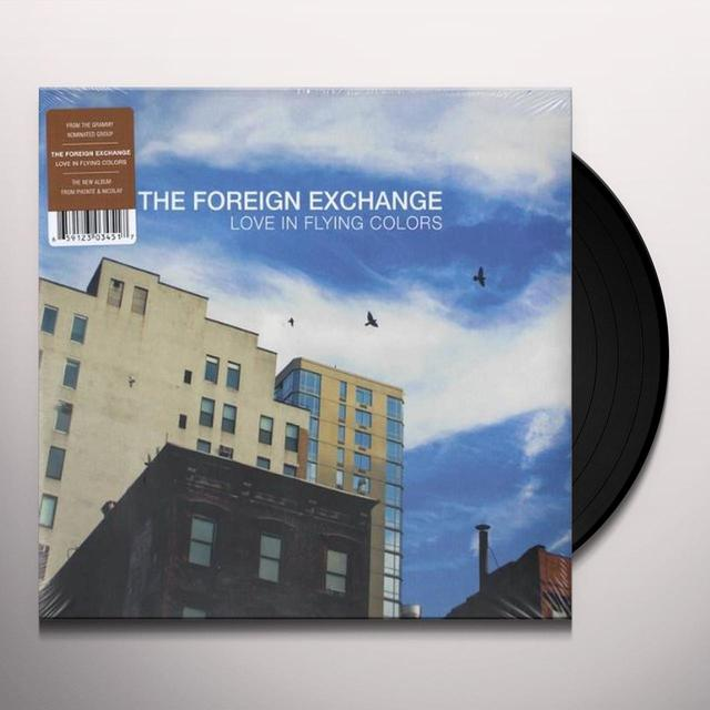 Foreign Exchange LOVE IN FLYING COLORS Vinyl Record