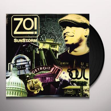 Zo SUNSTORM Vinyl Record