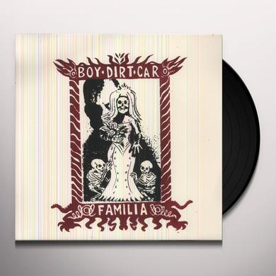 Boy Dirt Car FAMILIA Vinyl Record