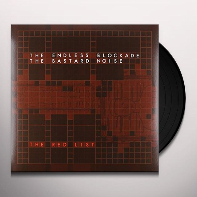 Bastard Noise / Endless Blockade RED LIST Vinyl Record