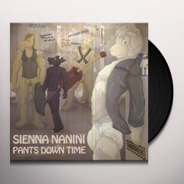 Sienna Nanini PANTS DOWN TIME Vinyl Record