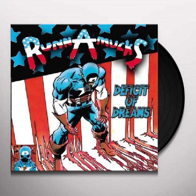 Runnamucks DEFICIT OF DREAMS Vinyl Record
