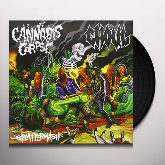 Cannabis Corpse / Ghoul SPLATTERHASH Vinyl Record