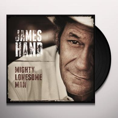 James Hand MIGHTY LONESOME MAN Vinyl Record