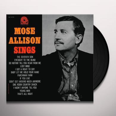 MOSE ALLISON SINGS Vinyl Record