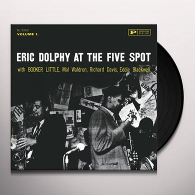 Eric Dolphy AT THE FIVE SPOT 1 Vinyl Record