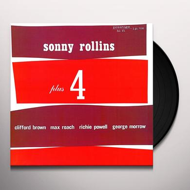 Sonny Rollins PLUS FOUR Vinyl Record