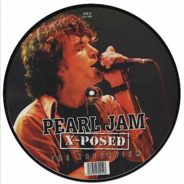 Pearl Jam X-POSED Vinyl Record