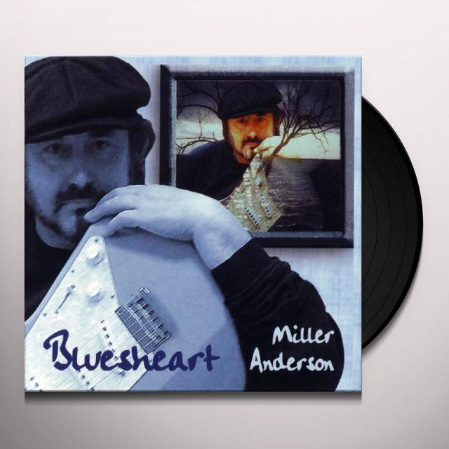 Miller Anderson BLUESHEART Vinyl Record