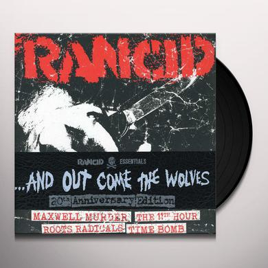 AND OUT COME THE WOLVES (RANCID ESSENTIALS 5X7 INC Vinyl Record