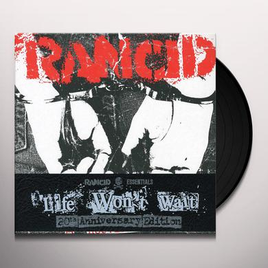 LIFE WON'T WAIT (RANCID ESSENTIALS 6X7 INCH PACK) Vinyl Record