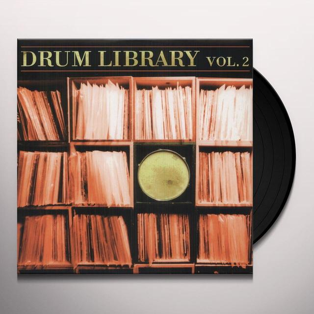 Paul Nice DRUM LIBRARY 2 Vinyl Record