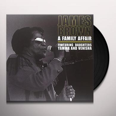 James Brown FAMILY AFFAIR Vinyl Record