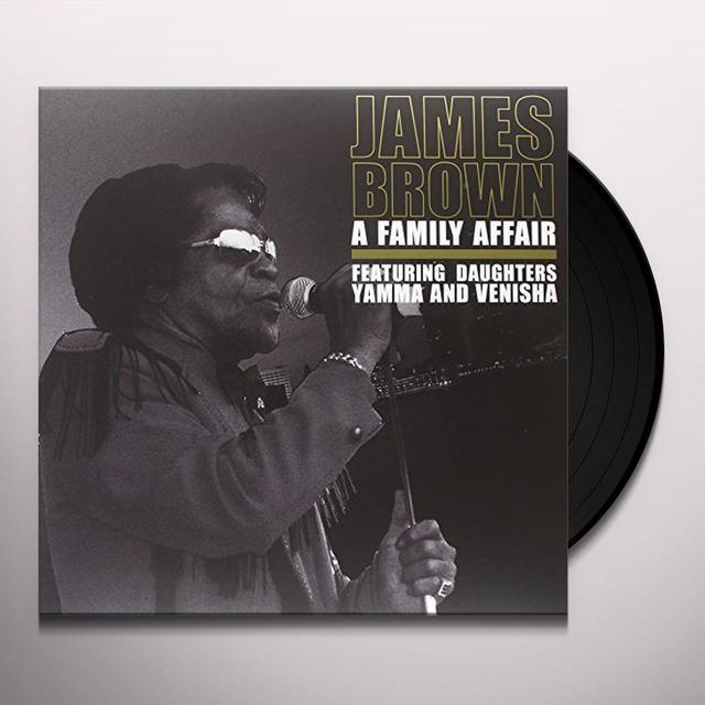 James Brown FAMILY AFFAIR Vinyl Record