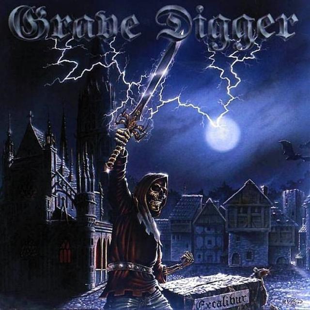 Grave Digger EXCALIBUR Vinyl Record - Colored Vinyl, Limited Edition, 180 Gram Pressing
