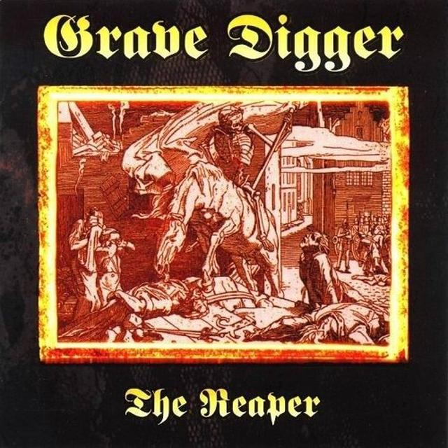 Grave Digger REAPER Vinyl Record - Colored Vinyl, Limited Edition