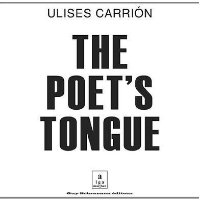 Ulises Carrion POETS TONGUE Vinyl Record
