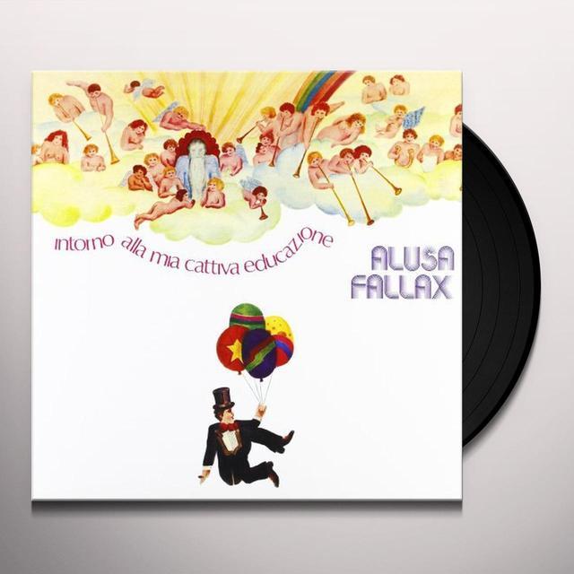 Alusa Fallax INTORNO ALLA MIA CATTIVA EDUCAZIONE Vinyl Record
