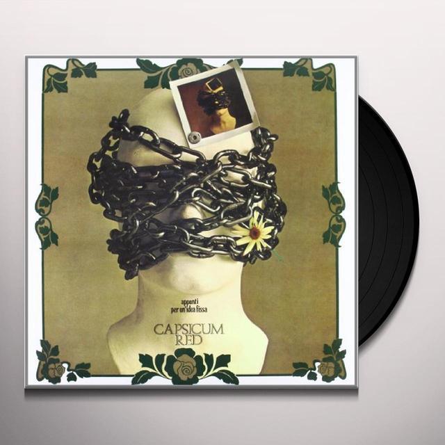 Capsicum Red APPUNTI PER UN'IDEA FISSA Vinyl Record
