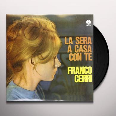 CERRI FRANCO SERA A CASA CON TE Vinyl Record