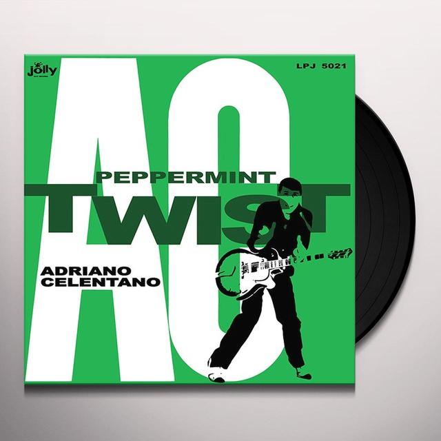 Adriano Celentano PEPPERMINT TWIST Vinyl Record