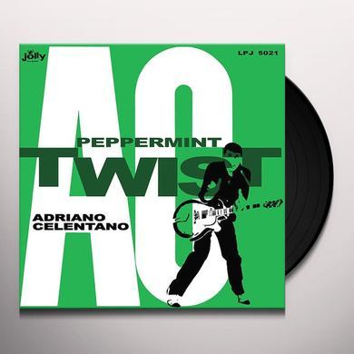 Adriano Celentano PEPPERMINT TWIST Vinyl Record - 180 Gram Pressing