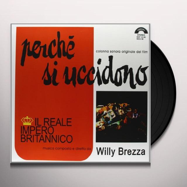 Reale Impero Britannico PERCHE SI UCCIDONO Vinyl Record