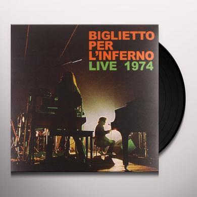Biglietto Per L'Inferno LIVE 1974 Vinyl Record