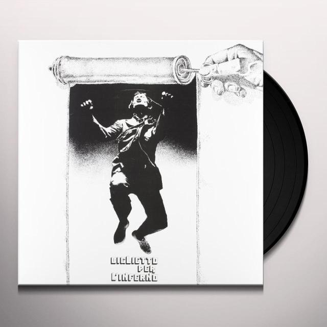 Biglietto Per L'Inferno SAME Vinyl Record