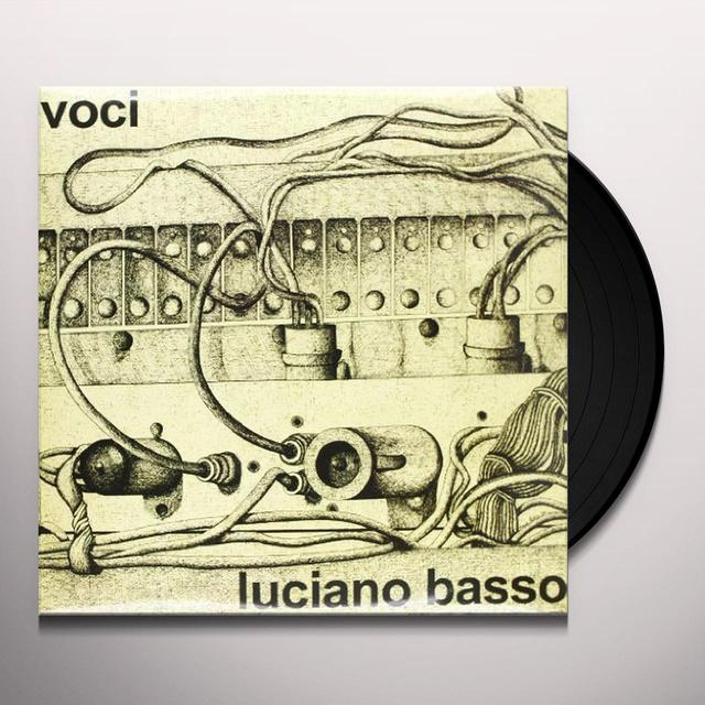 Luciano Basso VOCI Vinyl Record