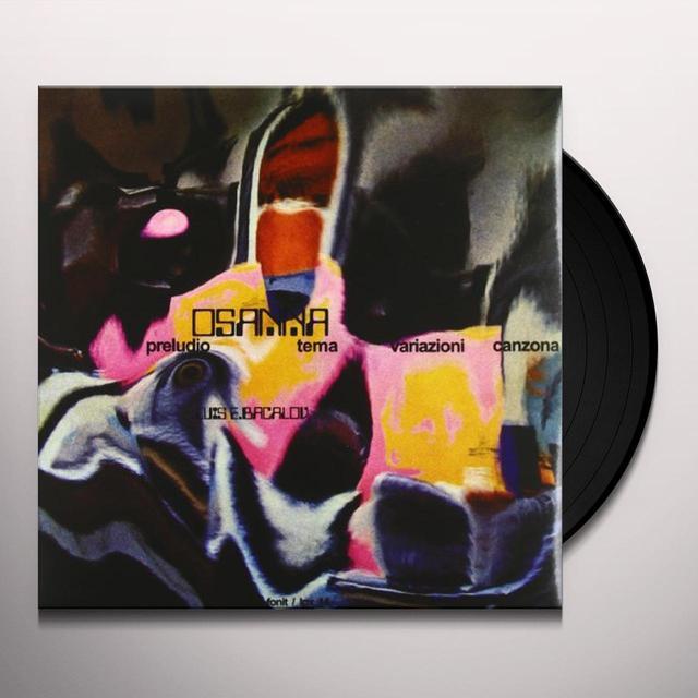 Osanna MILANO CALIBRO NOVE Vinyl Record
