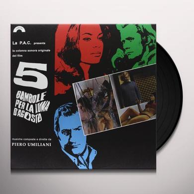 Piero Umiliani 5 BAMBOLE PER LA LUNA D'AGOSTO Vinyl Record
