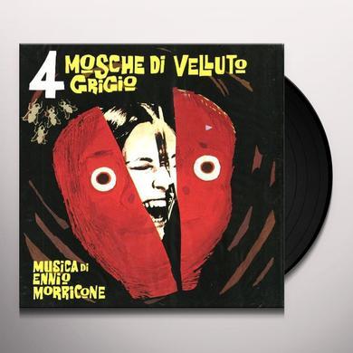 Ennio Morricone 4 MOSCHE DI VELLUTO GRIGIO Vinyl Record