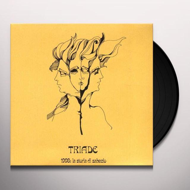 Triade 1998: STORIA DI SABAZIO Vinyl Record