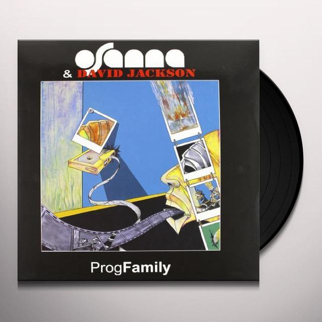 Osanna & David Jackson PROG FAMILY Vinyl Record