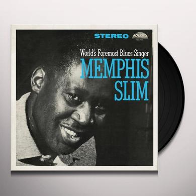 Memphis Slim WORLDS FOREMOST BLUES SINGER Vinyl Record