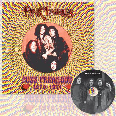 Pink Fairies FUZZ FREAKOUT 1970-1971 Vinyl Record