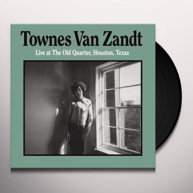 Townes Van Zandt LIVE AT THE OLD QUARTER (Vinyl)