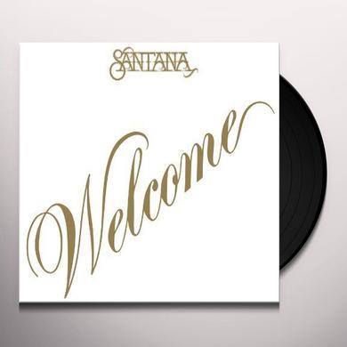 Santana WELCOME Vinyl Record - Limited Edition, 180 Gram Pressing, Anniversary Edition