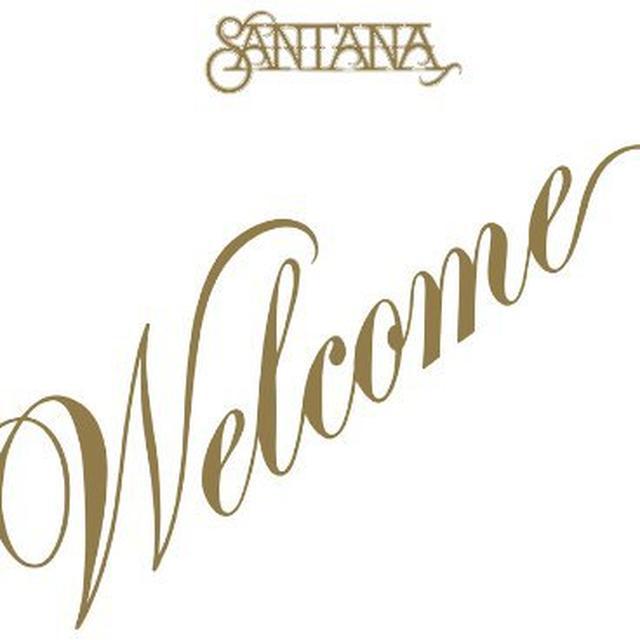 Santana WELCOME Vinyl Record