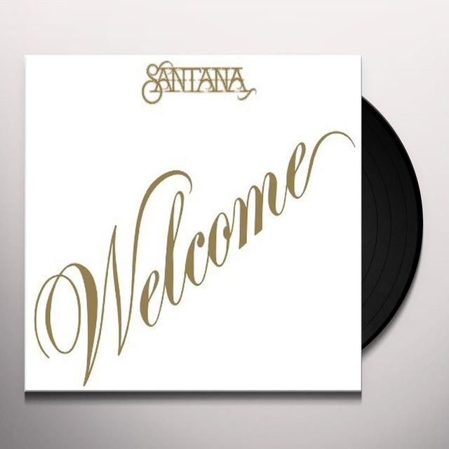 Santana WELCOME Vinyl Record - Limited Edition, 180 Gram Pressing, Anniversary Edition
