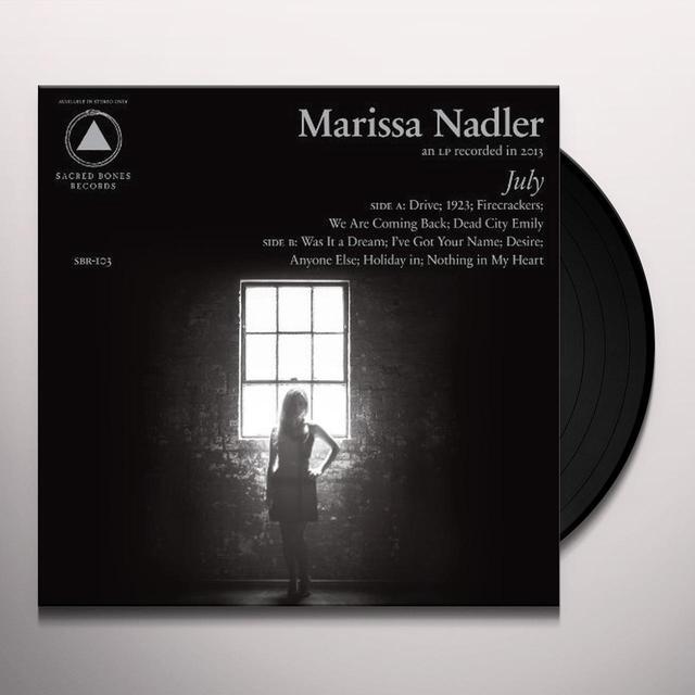 Marissa Nadler JULY Vinyl Record