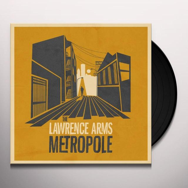 The Lawrence Arms METROPOLE (BONUS CD) Vinyl Record